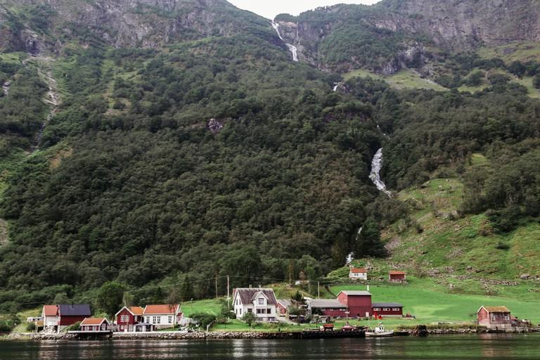 Naeroyfjord, Sognefjord, Norway