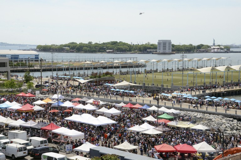 Smorgasburg, Brooklyn, New York.