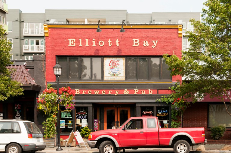 The Elliott Bay Brewery and Pub in West Seattle