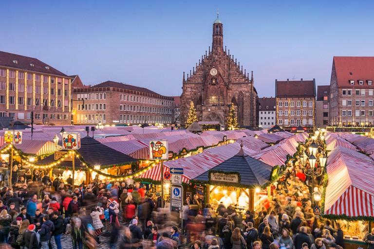 Christmas Market Nuremberg, Germany.