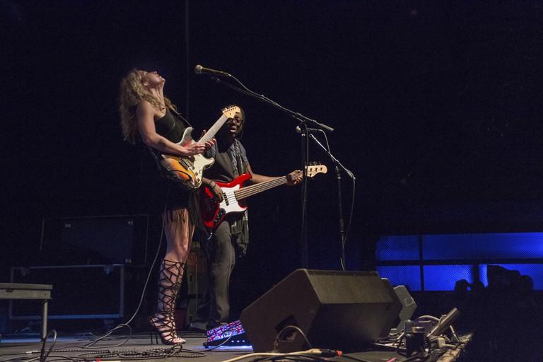 Ana Popovic Live at the Highline Ballroom in New York City.