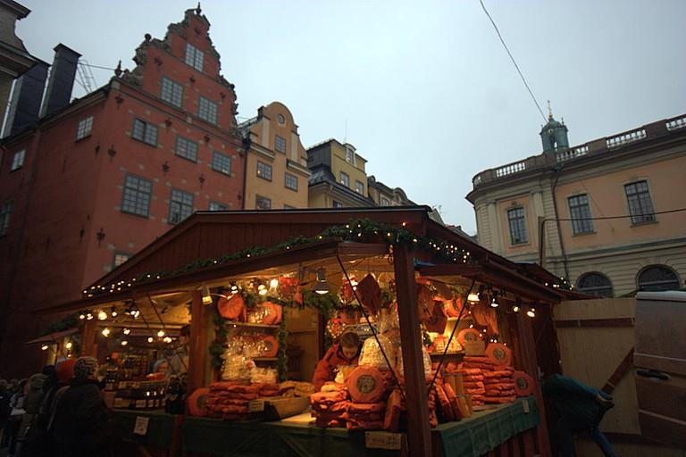 Gamla Stan Christmas Market Kiosk