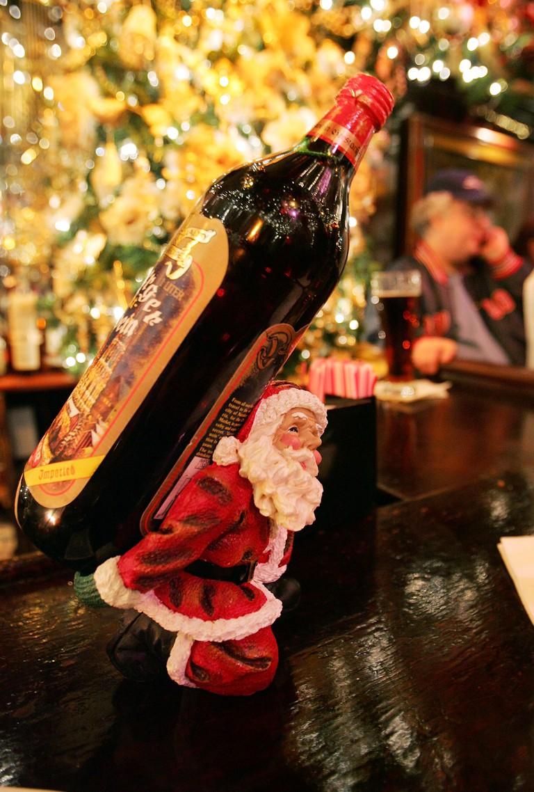 Landmark New York Restaurant Gets Into Holiday Spirit