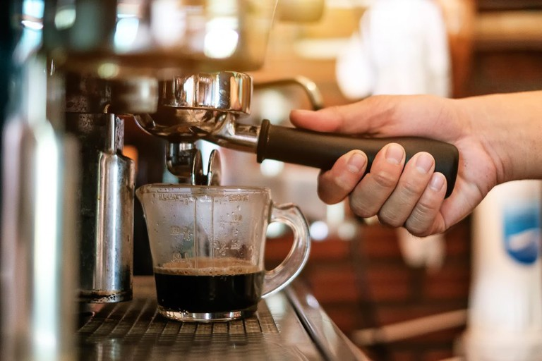 Coffee Tags serves a first-class espresso