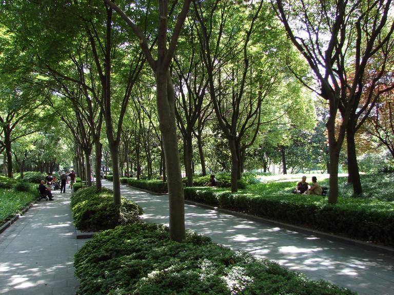 Xujiahui Park Shanghai