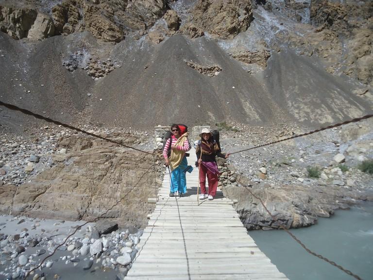 Hafiza Bano and Nadeema Sahar