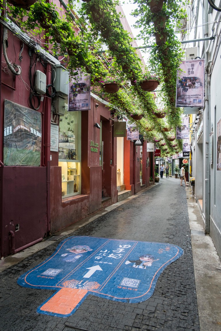 Tianzifang is a maze of small lanes