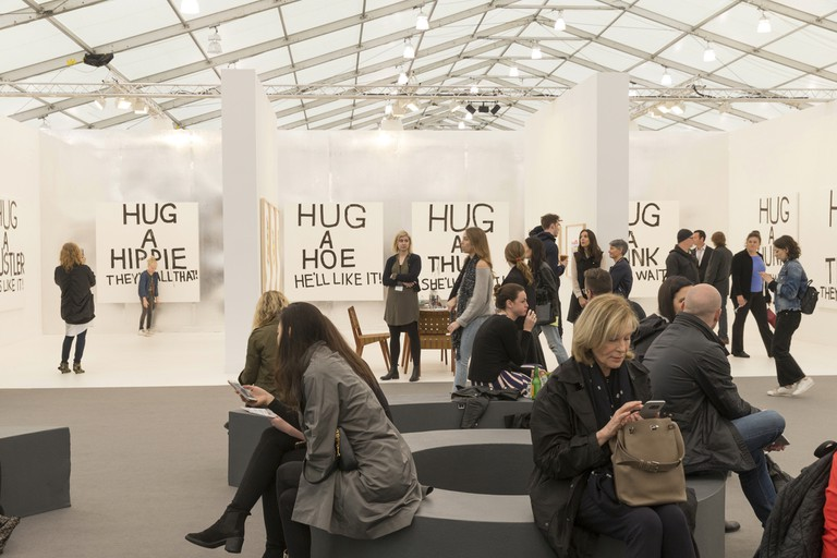 A series of talks, performances and exhibitions take place at Frieze Art Fair New York