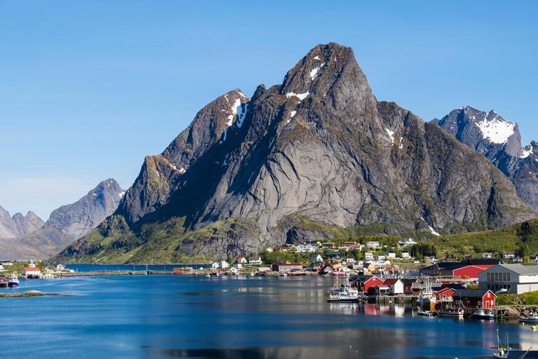 Reine, Moskenes, Moskenesoya Island, Lofoten Islands, Norway