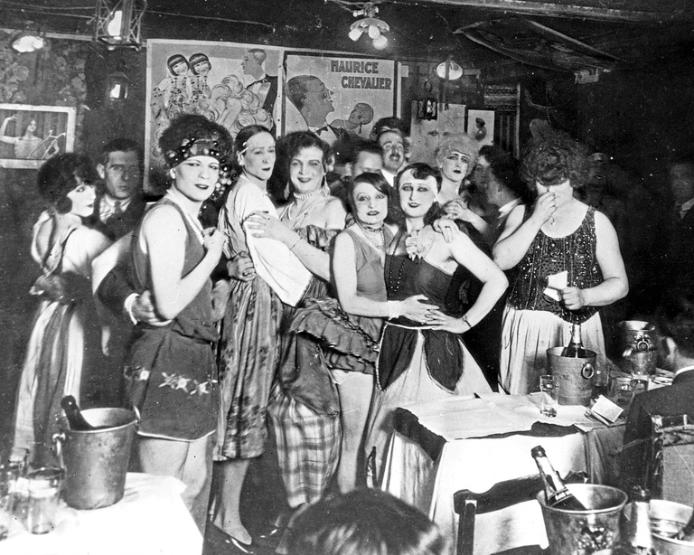 Montmartre Gay Bar, Paris, France, 1927