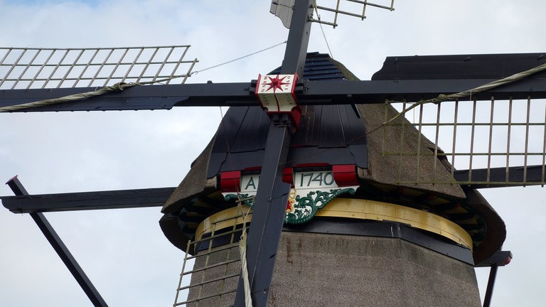 Most windmills at Kinderdijk were built during the late 18th century