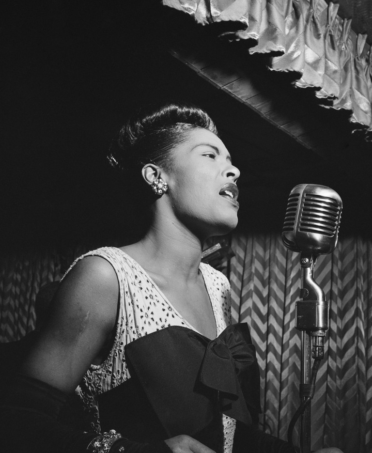 Billie Holiday (1915-1959).