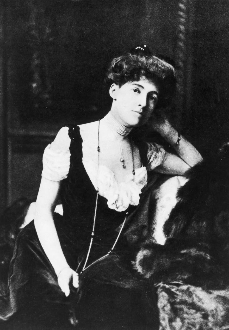 Edith Newbold Wharton (1862-1937). American Writer. Photographed C1900.