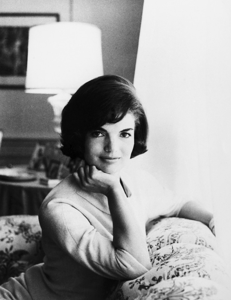 Jacqueline Kennedy (1929-1994). Wife Of President John Fitzgerald Kennedy. Photographed At The White House, 1961.