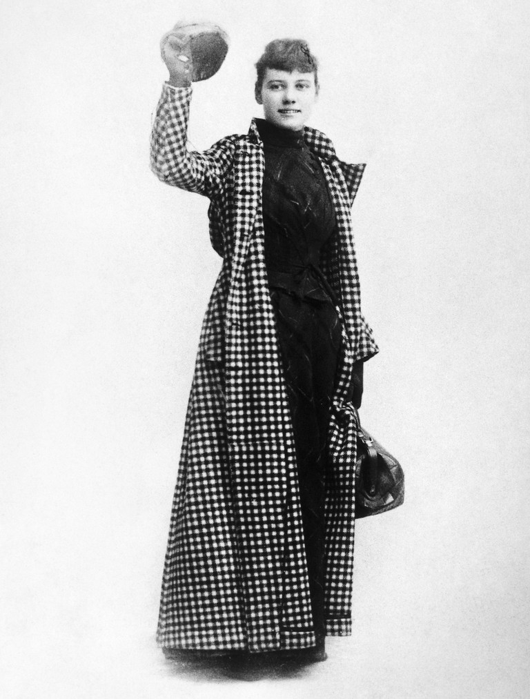 Nellie Bly (1867-1922).