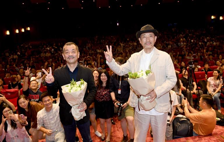 'Midnight Diner 2' film press conference, Shanghai Film Festival, China - 21 Jun 2017