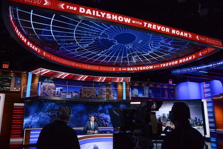 """The Daily Show with Trevor Noah"", New York, USA."