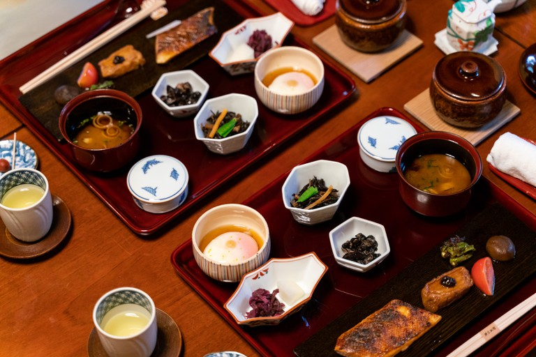 Kaiseki is a traditional Japanese multi-course meal
