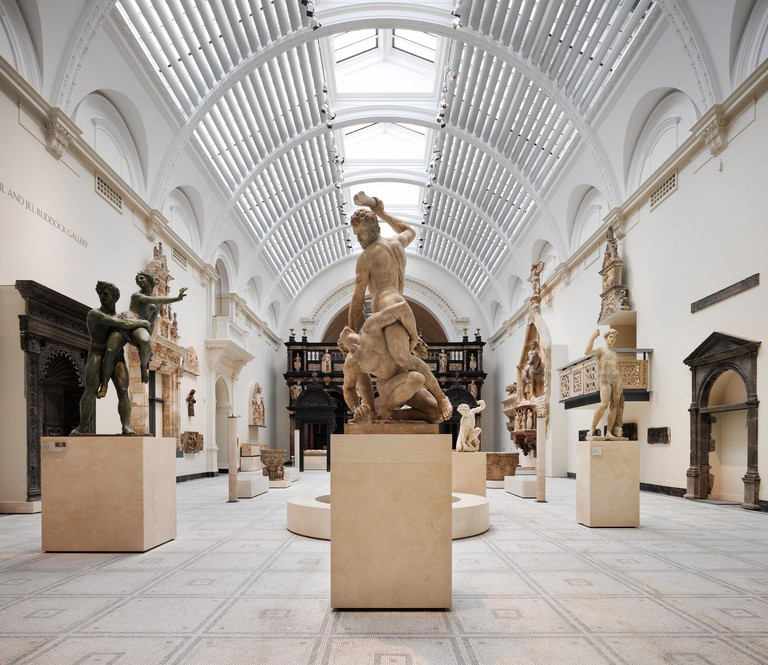 The Renaissance City (1350-1600) exhibition, one of the V&A's many sculpture galleries