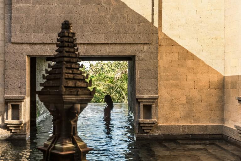Bali's Como Shambhala Estate offers tranquil scenes like this one