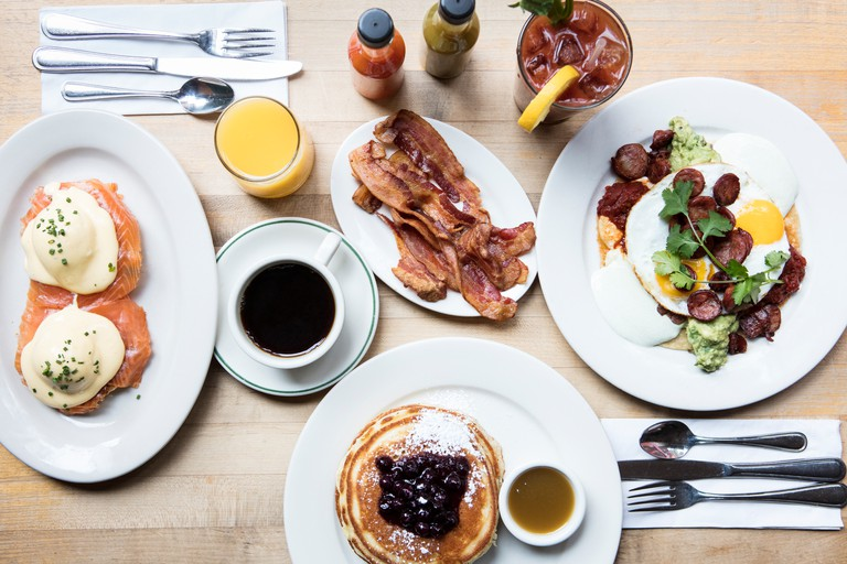Brunch at Clinton Street Baking Company in East Village