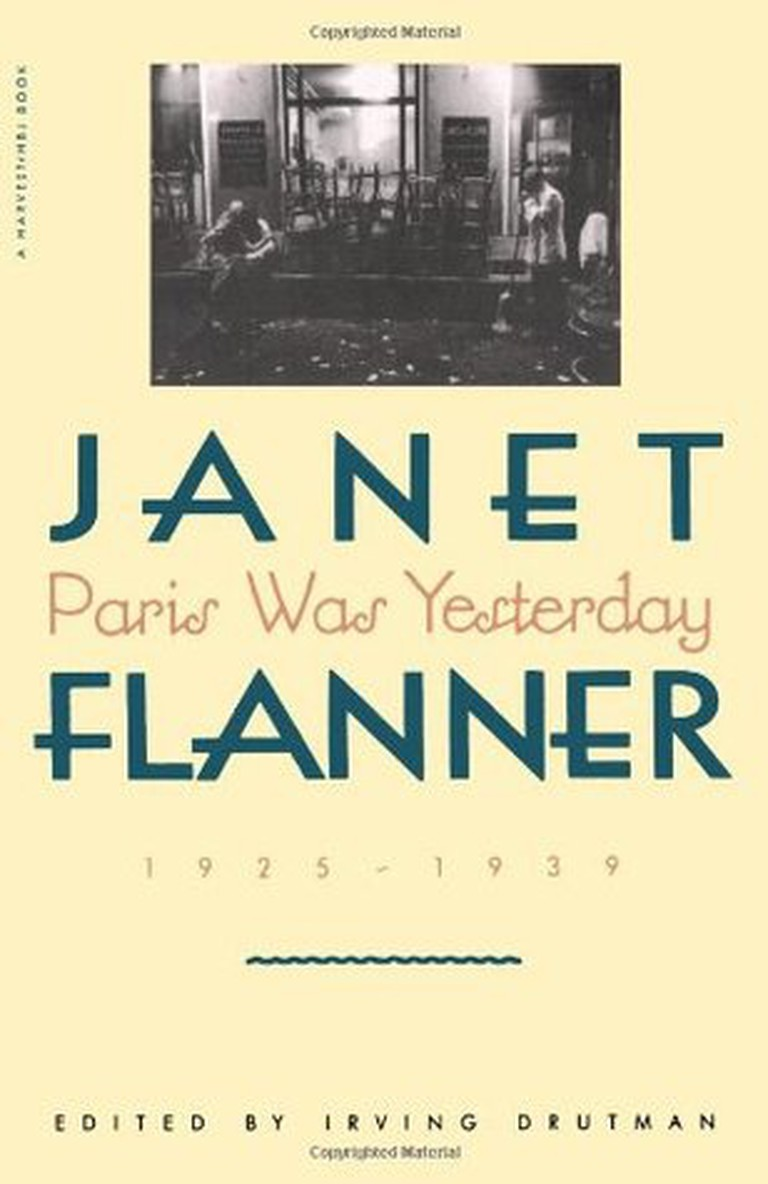 'Paris Was Yesterday' by Janet Flanner