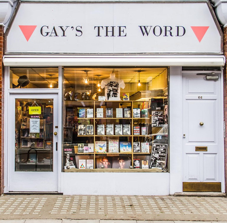 Gay's The Word book shop, Bloomsbury, London