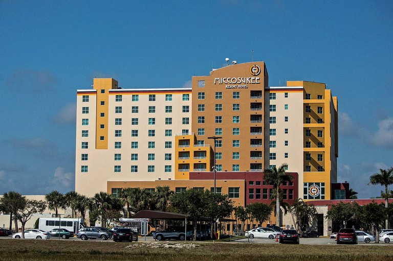 Miccosukee Resort Hotel and Casino, Florida.