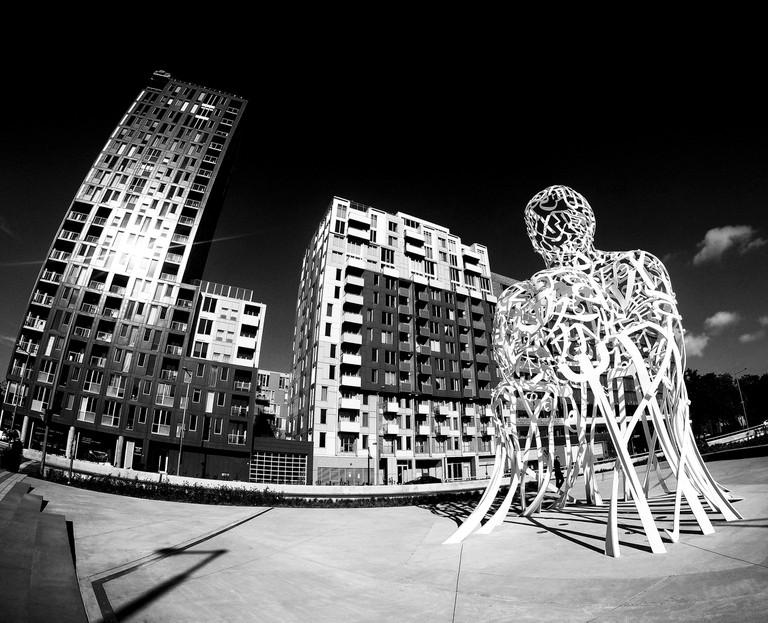 Source Sculpture by Jaume Plensa