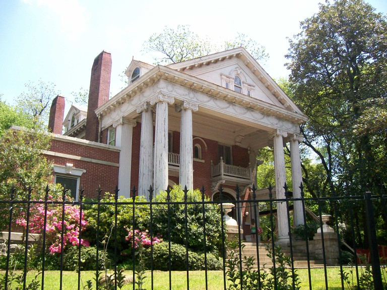 One of the houses in Inman Park, Atlanta.