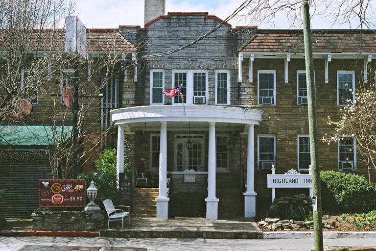 Highland inn, Virginia Highlands, Atlanta.