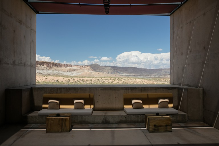 Come to Amangiri for the spa; stay for the desert's austere beauty