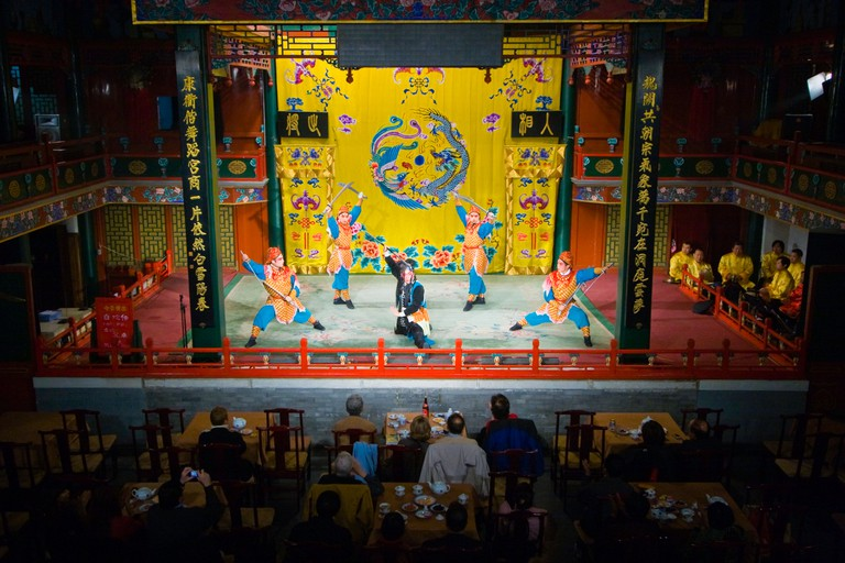 Peking Opera, Beijing, China.