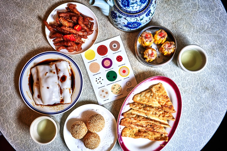 Try an Asian brunch at Nom Wah Tea Parlor