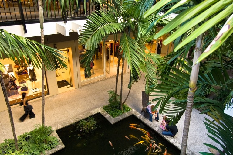Miami Bal Harbour Shopping Mall, Florida.