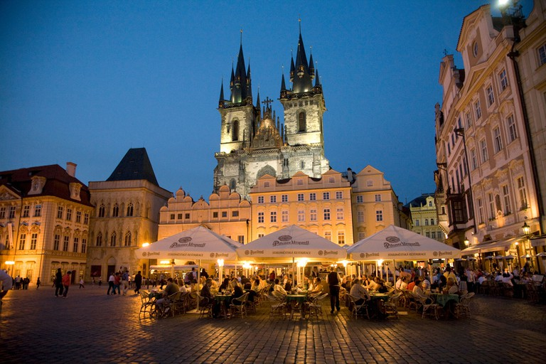 Bars and restaurants in Prague