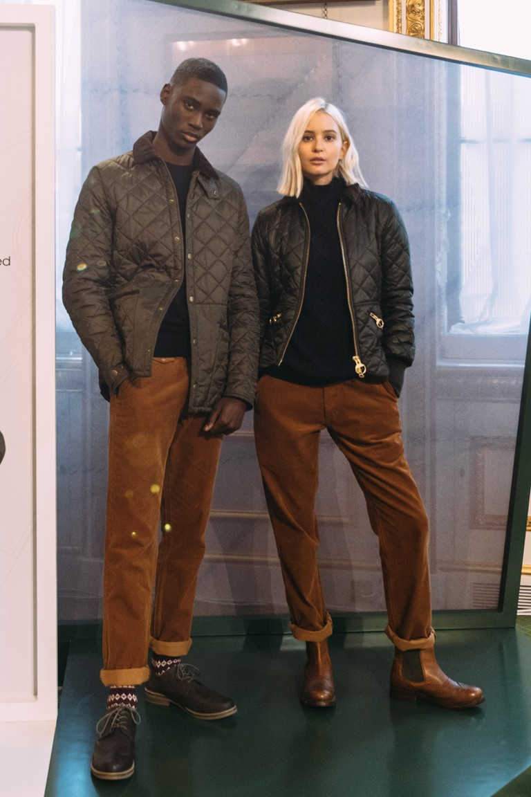 Barbour launched its Icons Re-Engineered collection to mark the brand's 125th anniversary