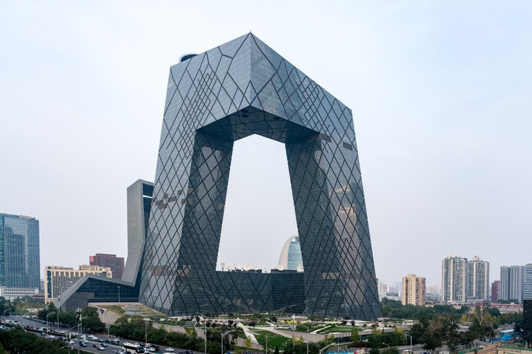The Beijing Central Business District is the best place in the city to admire modern architecture