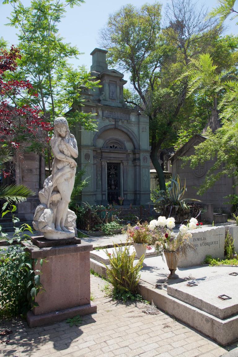Santiago's General Cemetery in Recoleta.