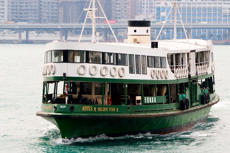 The Star Ferry is a great way to see Hong Kong's dual skylines in all their glory