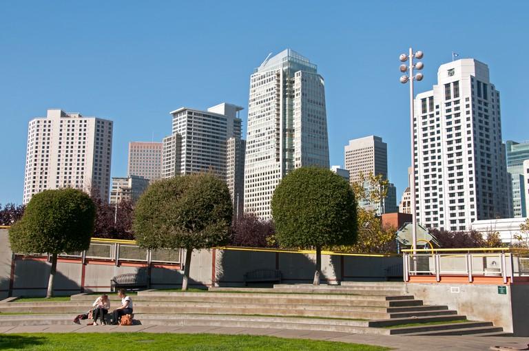 Yerba Buena Gardens, San Francisco.