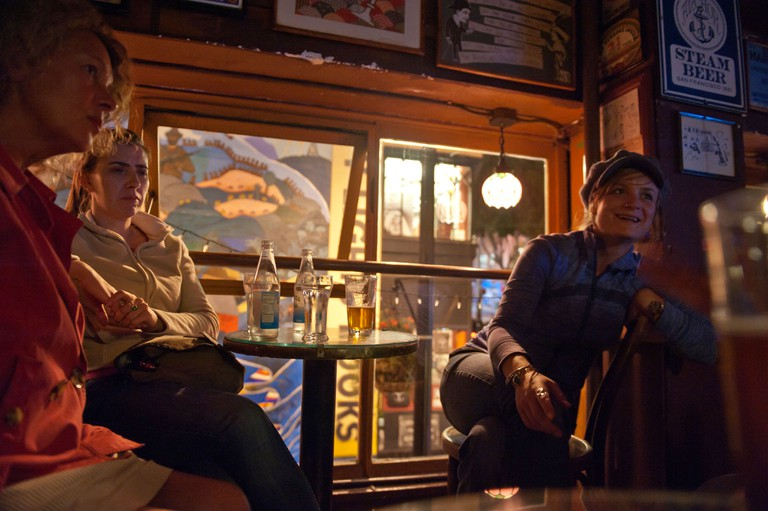 Vesuvio cafe. World-renowned San Francisco saloon in North Beach just across from the City Lights bookstore. San Francisco. USA