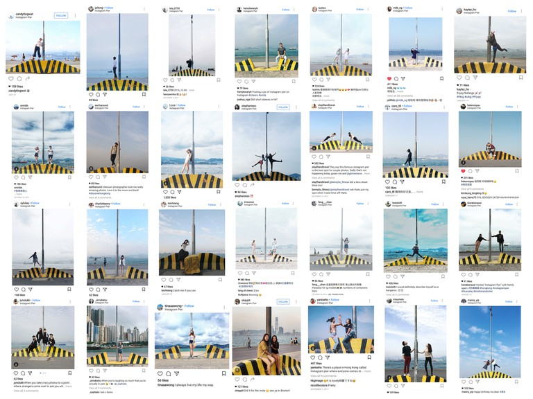 Instagram screenshots, Instagrampier, Hong Kong Island, Hong Kong, SAR China