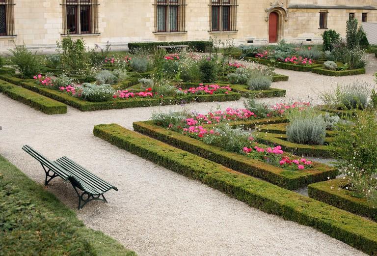 Public garden, Paris