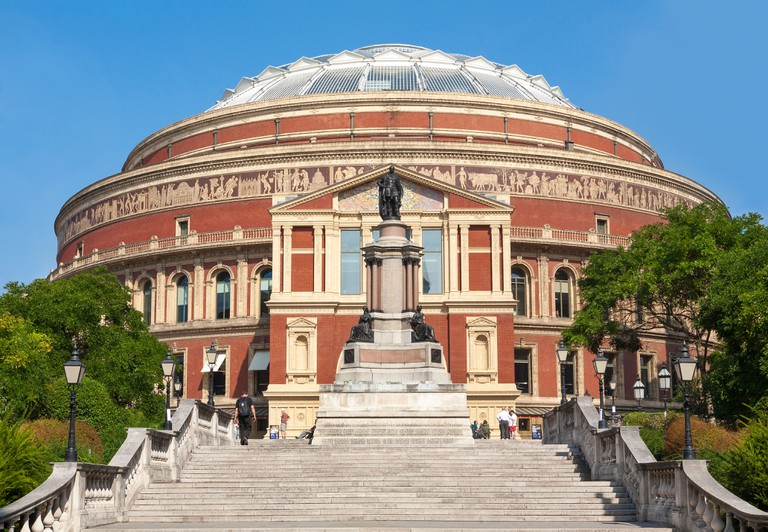 The Royal Albert Hall, London.