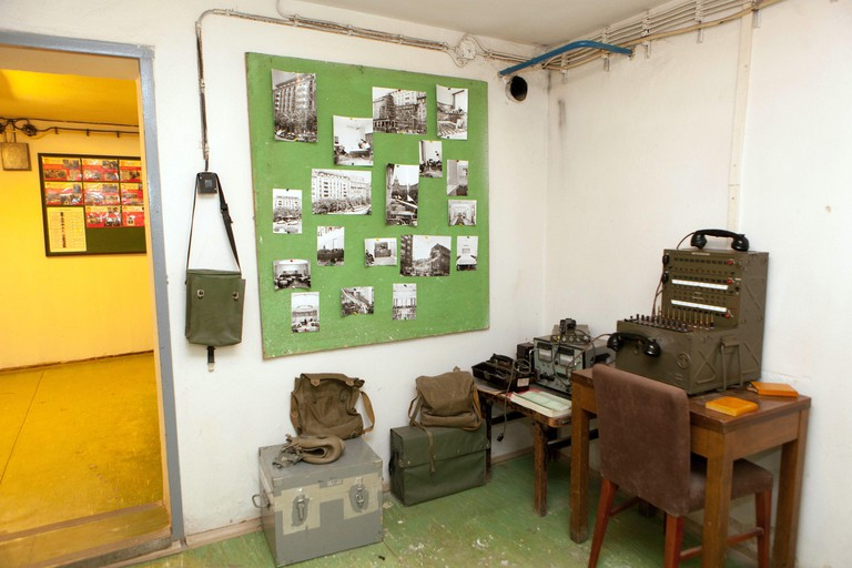Nuclear Bunker Exhibit, Prague