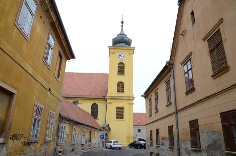 Old town, Tvrda, Osijek, Croatia