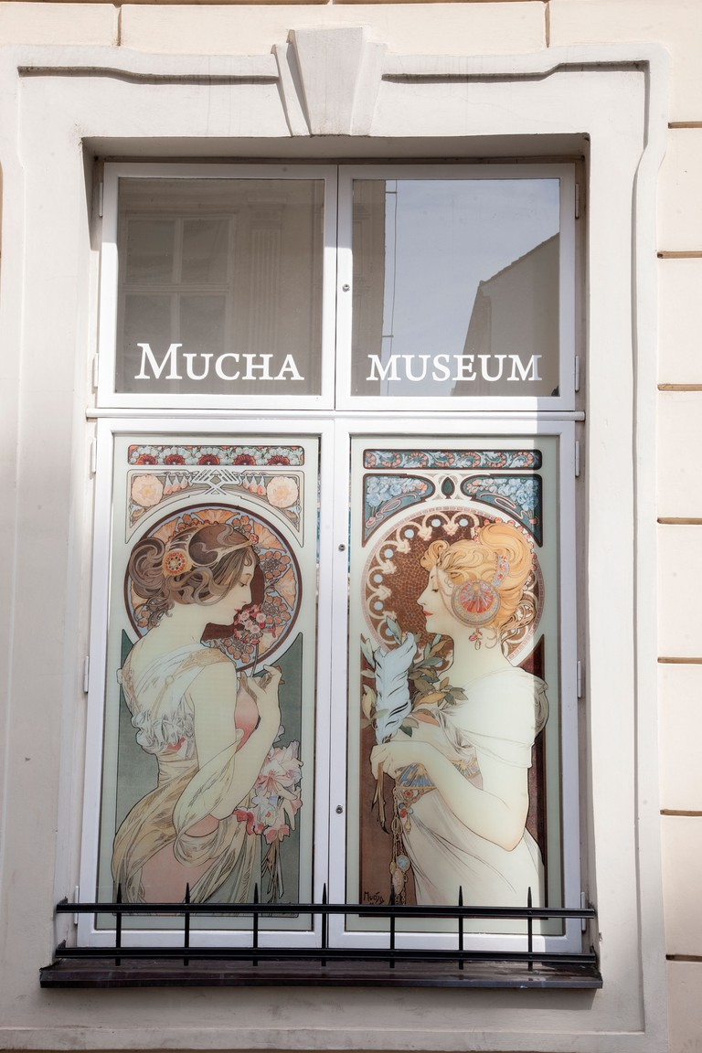 Alphonse Mucha is best known for his posters of beautiful women