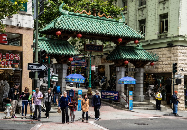 Dragons Gate, Chinatown, San Francisco, California