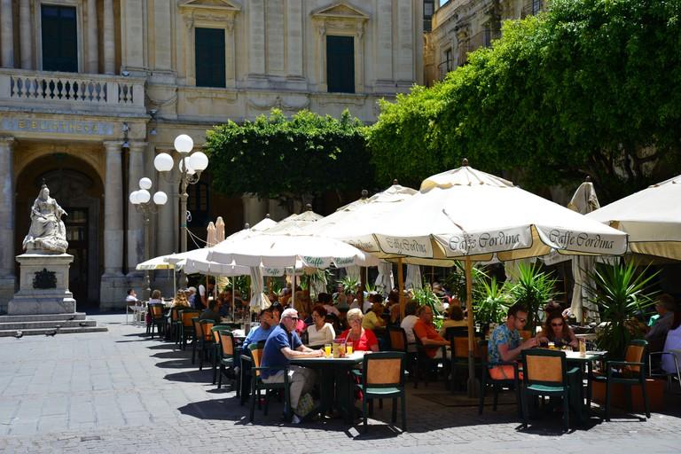 Cafe Cordina, Southern Harbour District, Malta.